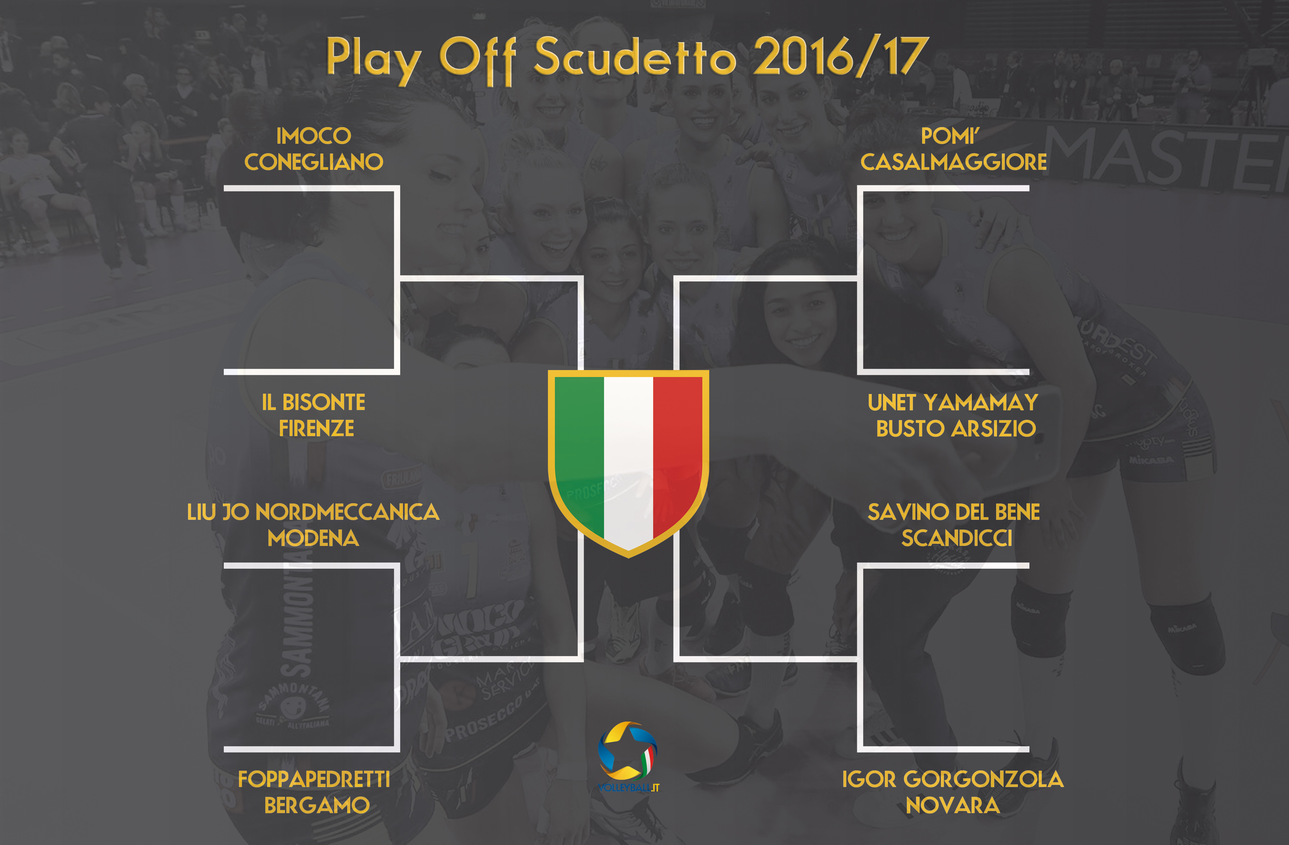 Calendario Quarti Mondiali.Play Off A1 Femminile Il Calendario Dei Quarti Di Finale