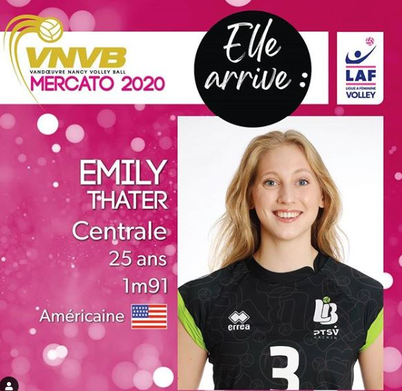 Emily Thater, centrale USA